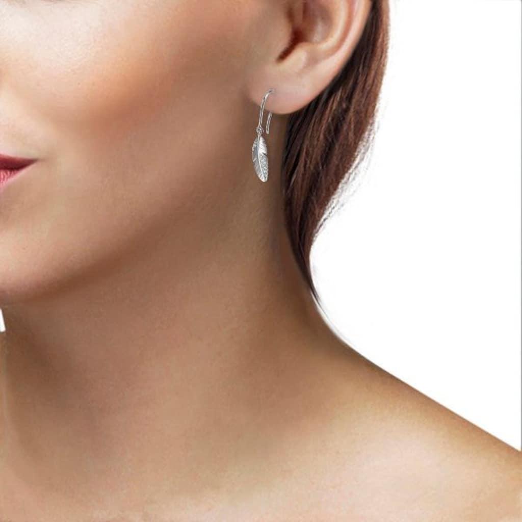 goldmaid Paar Ohrhänger 585/- Weißgold 20 Brillanten 0,06 ct