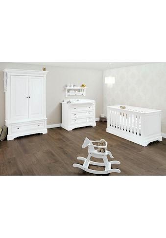 Pinolino® Babyzimmer-Komplettset »Emilia«, (Set, 3 St.), breit; mit Kinderbett,... kaufen