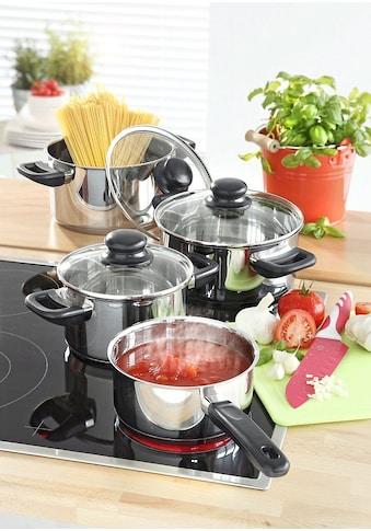 Elo - Meine Küche Topf-Set »Juwel de Luxe«, Edelstahl 18/10, (Set, 7 tlg.) kaufen