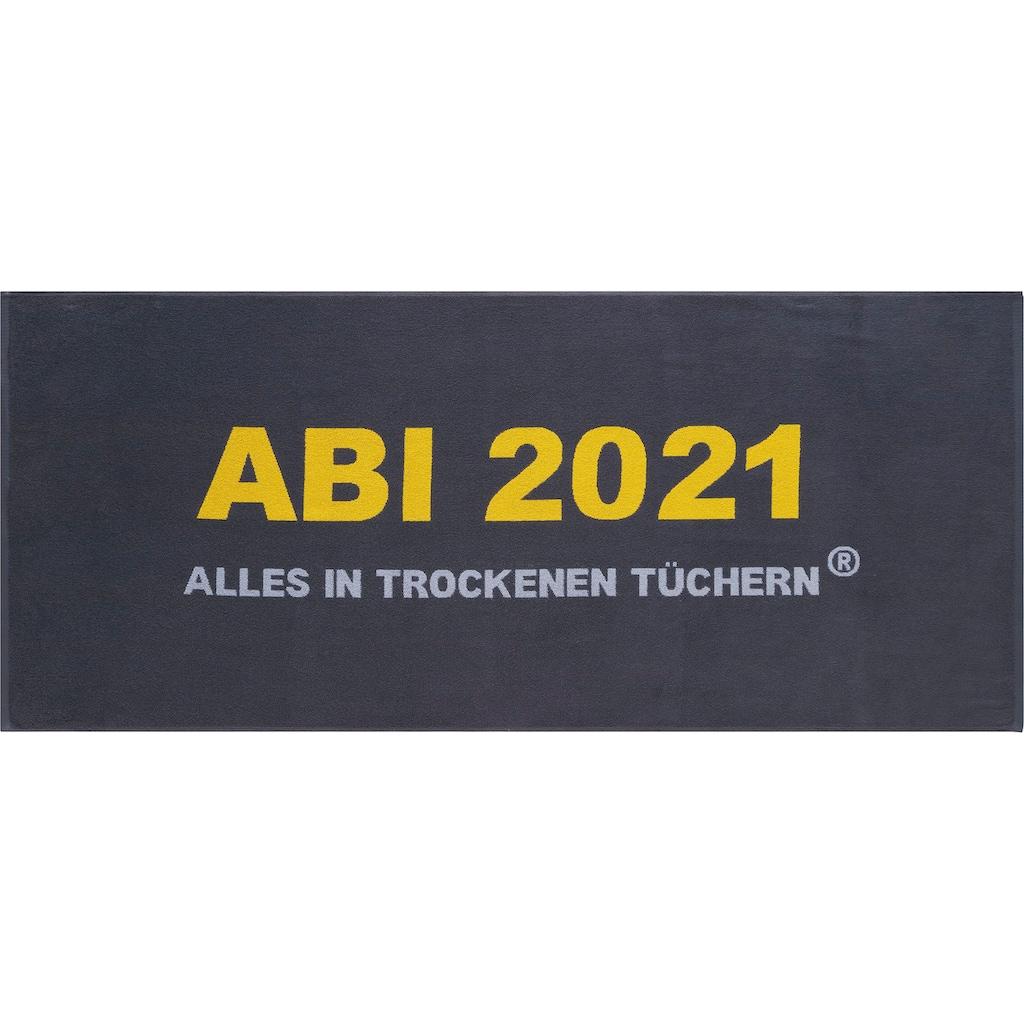 Egeria Strandtuch »Abi 2021«, (1 St.), mit tollem Schriftzug