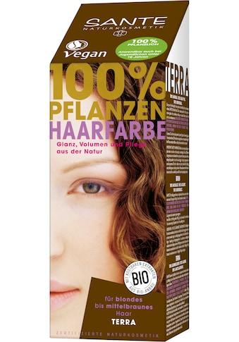 SANTE Haarfarbe »Pflanzenhaarfarbe terra« kaufen