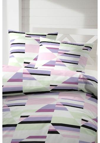 Primera Bettwäsche »Kaleidoskop«, mit geometrisch strukturierten Muster kaufen