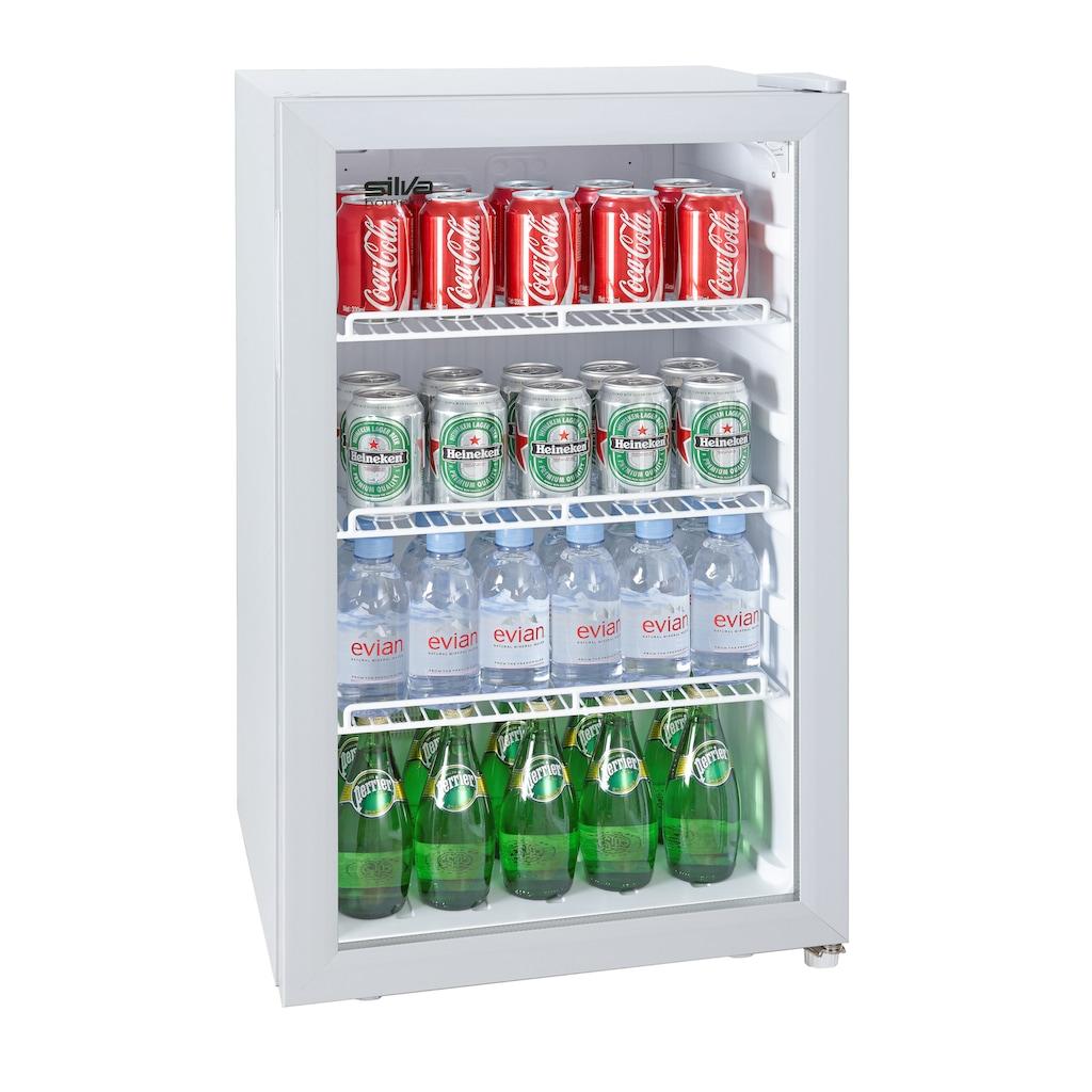Silva Homeline Getränkekühlschrank »G-KS 1695«, Platz für 70 Dosen oder 44 Bierflaschen