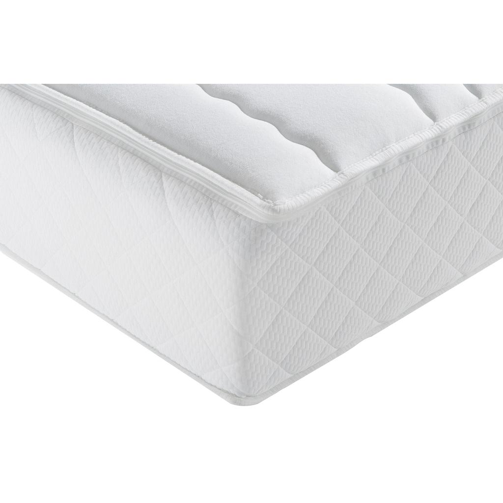 f.a.n. Schlafkomfort Taschenfederkernmatratze »ProVita Relax 1.000 T«, 1034 Federn, (1 St.), mit Frottee Bezug