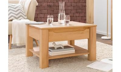 Woltra Couchtisch »Denis«, Massivholz kaufen