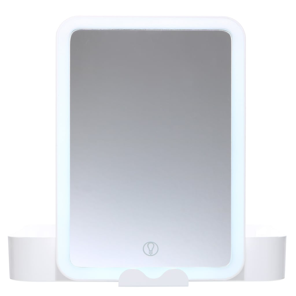 AILORIA Kosmetikspiegel »BELLE«, (1 St.), Beautycase mit LED-Spiegel (USB)