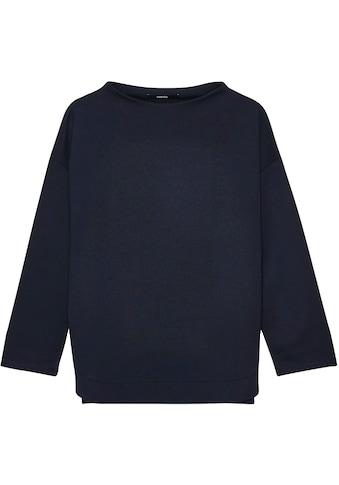 someday Langarmshirt »Kamanda«, mit hoch geschlossenem U-Boot Ausschnitt kaufen