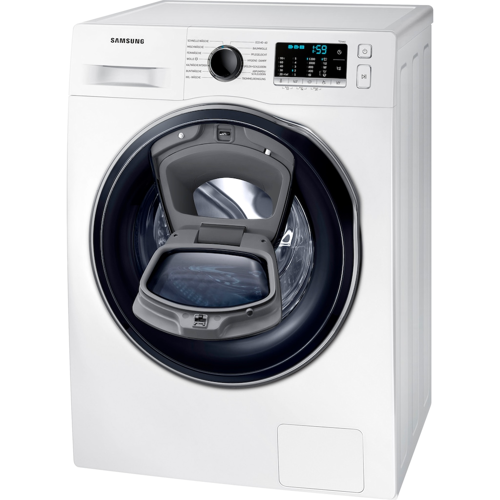 Samsung Waschmaschine »WW8NK52K0VW/EG«, WW5500T SLIM, WW8NK52K0VW/EG