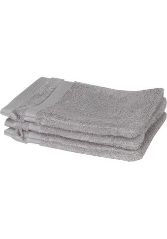 SCHÖNER WOHNEN-Kollektion Waschlappen »Cuddly«, (3 tlg.), in unterschiedlichen Farben kaufen