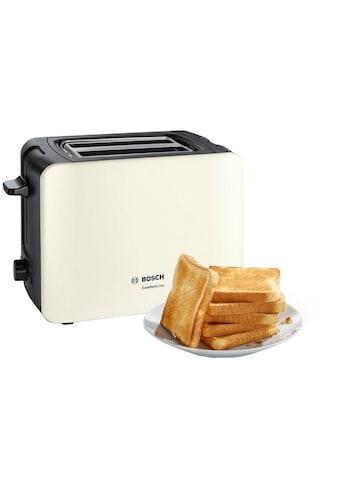 BOSCH Toaster »ComfortLine TAT6A117«, 2 kurze Schlitze, für 2 Scheiben, 1090 W kaufen