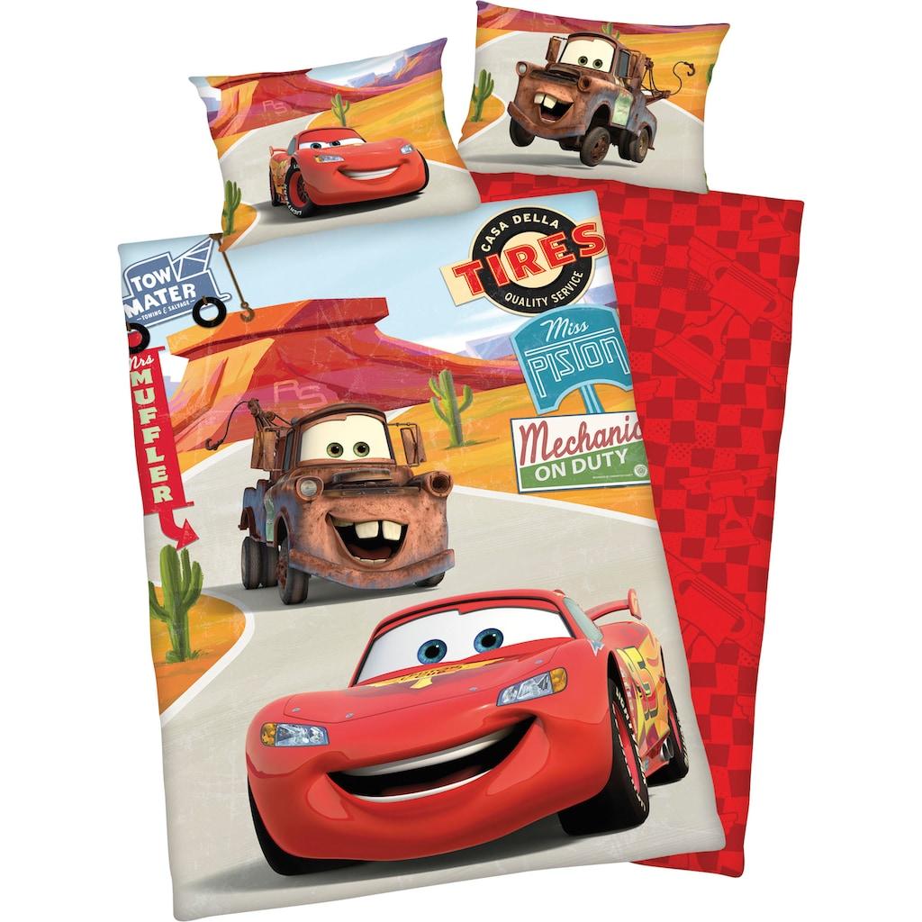 Walt Disney Babybettwäsche »Disney´s Cars«, mit niedlichem Motiv