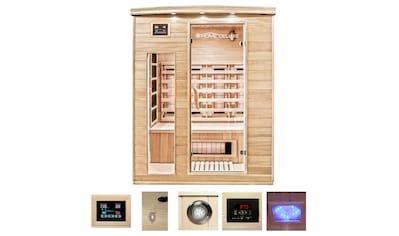 HOME DELUXE Infrarotkabine »Gobi L«, für bis zu 3 Personen kaufen