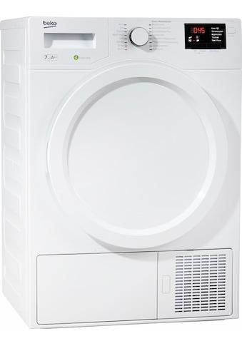 BEKO Wärmepumpentrockner DPS 7405 W3, 7 kg kaufen