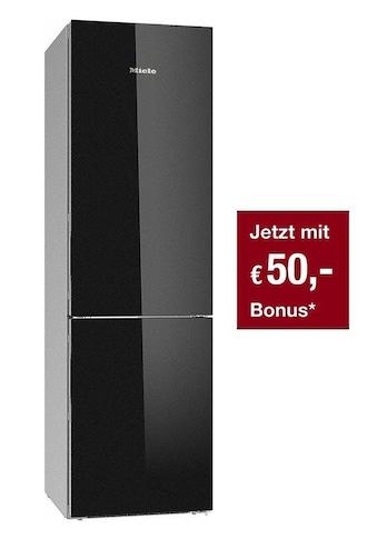 Stand - Kühl - Gefrierkombination, Miele, »KFN 29683 D obsw XL Glas« kaufen