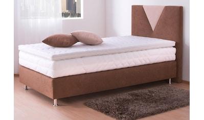 Westfalia Schlafkomfort Boxspringbett, in 2 Bezugsqualitäten kaufen