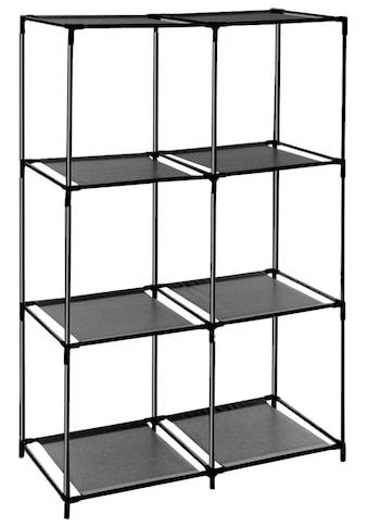 ADOB Regalsystem »Steckregal«, mit sechs Fächern kaufen