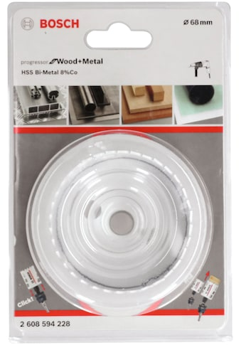 Bosch Professional Lochsäge »Progressor for Wood&Metal«, 68 mm kaufen