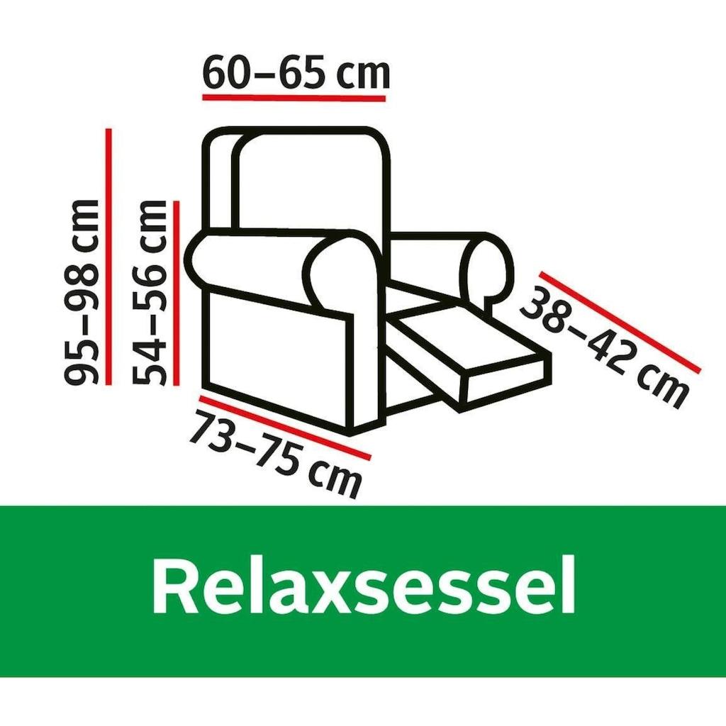 Dohle&Menk Sesselhusse »Susi«, in hochwertiger Samt-Optik