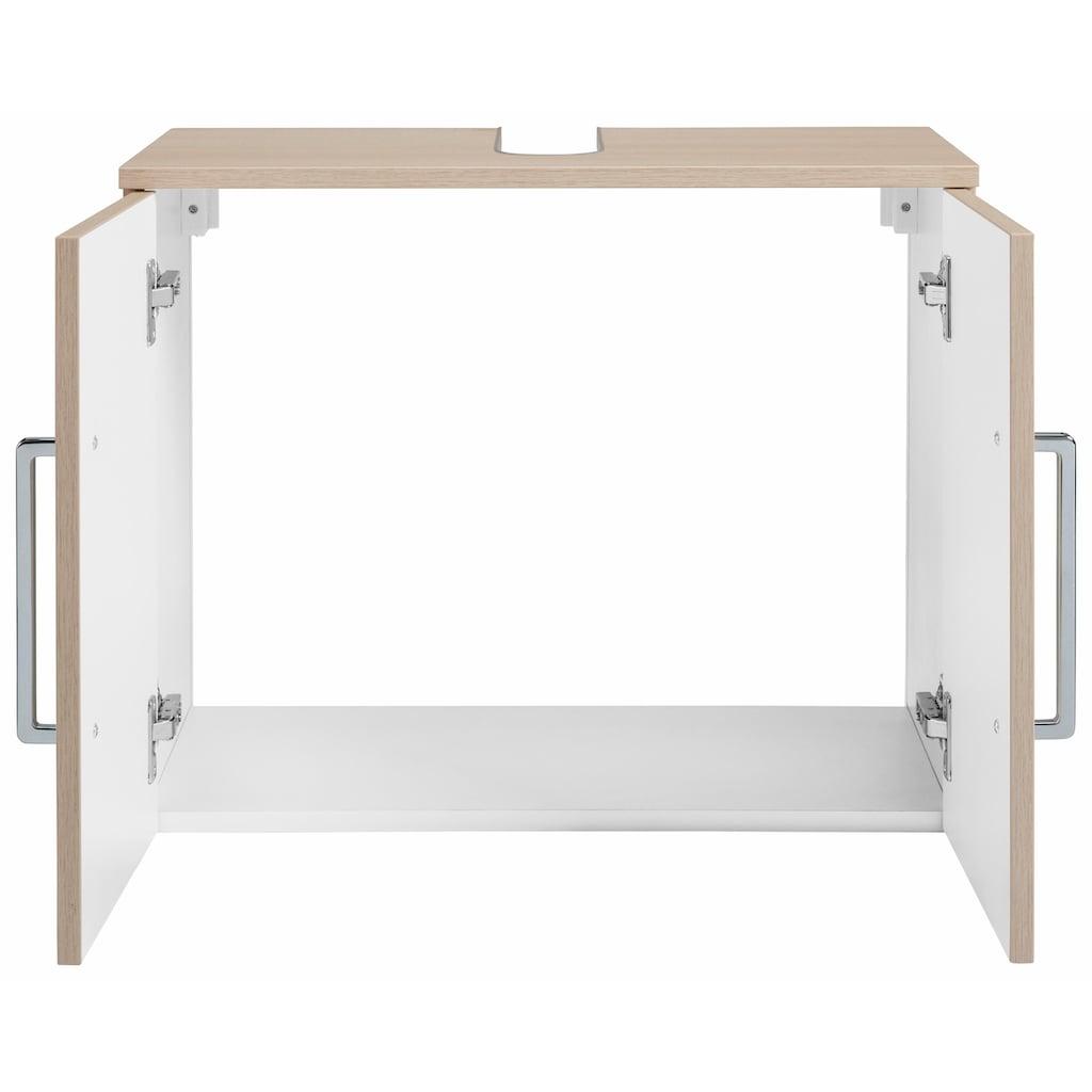 OPTIFIT Waschbeckenunterschrank »Napoli«, Soft-Close-Funktion, Breite 62 cm
