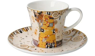 Goebel Becher »Die Erfüllung«, von Gustav Klimt, Sammlerstück kaufen