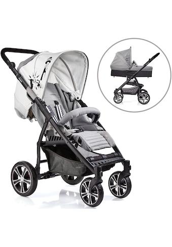 Gesslein Kombi-Kinderwagen »S4 Air+, Black/Grau & Babywanne C3 Grau« kaufen