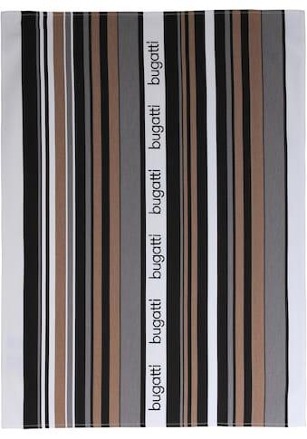"""bugatti Geschirrtuch """"bugatti Tape"""" (Set, 3 - tlg.) kaufen"""
