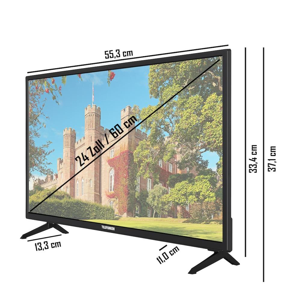 "Telefunken LED-Fernseher »XH24J101D«, 60 cm/24 "", HD-ready"