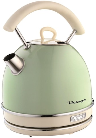 Ariete Wasserkocher »Vintage 2877 grün«, 1,7 l, 2200 W kaufen