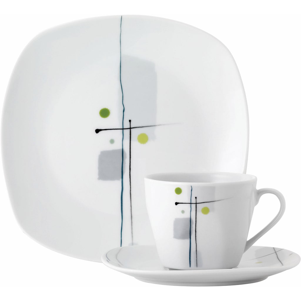 "van Well Kaffeeservice ""LIDO"" (18-tlg.), Porzellan"