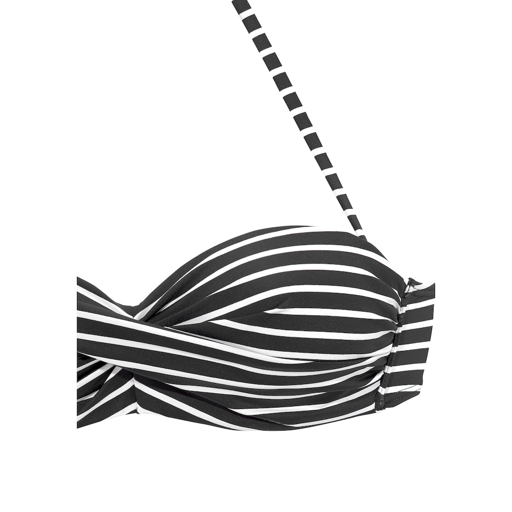 s.Oliver Bandeau-Bikini-Top »Hill«, gestreift