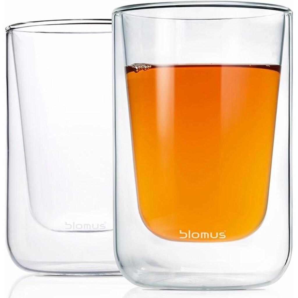 BLOMUS Thermoglas »NERO«, (Set, 2 tlg.), Doppelwandig, Inhalt 250 ml, 2-teilig