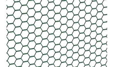 GAH Alberts Sechseckgeflecht, 100 cm hoch, 10 m, grün beschichtet kaufen