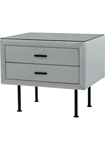 ADA premium Nachttisch »817«, mit Glasplatte kaufen
