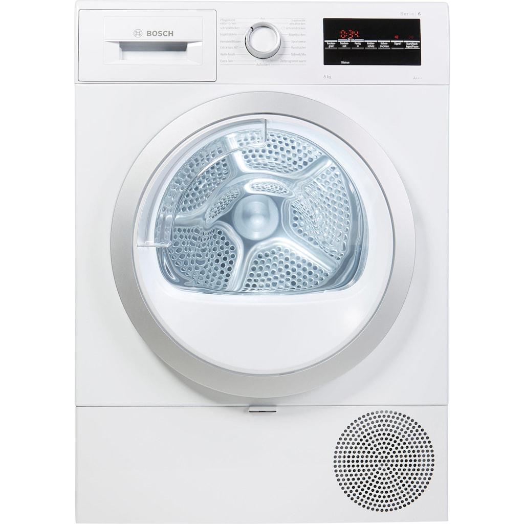 BOSCH Wärmepumpentrockner »WTR87440«, 8 kg