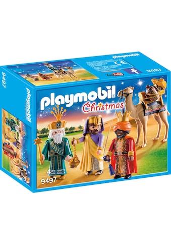 Playmobil® Konstruktions-Spielset »Heilige Drei Könige (9497), Christmas«, Made in Europe kaufen