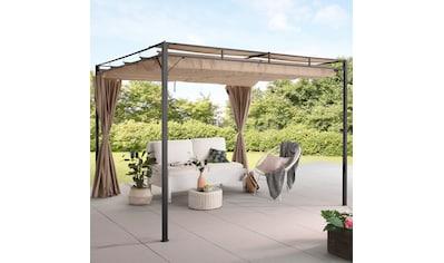 KONIFERA Pavillon »Milos«, (Set), BxT: 300x300 cm kaufen