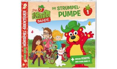 Musik-CD »Folge 1:Die Strumpel-Pumpe / Karls Bande,Die« kaufen