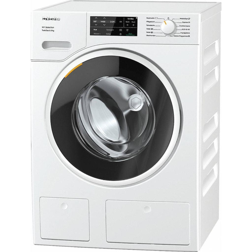 Miele Waschmaschine, WSG663 WCS Tdos W1, 9 kg, 1400 U/min