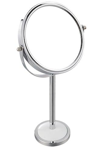 MSV Kosmetikspiegel »Standspiegel«, rund, Vergrösserung x2 kaufen