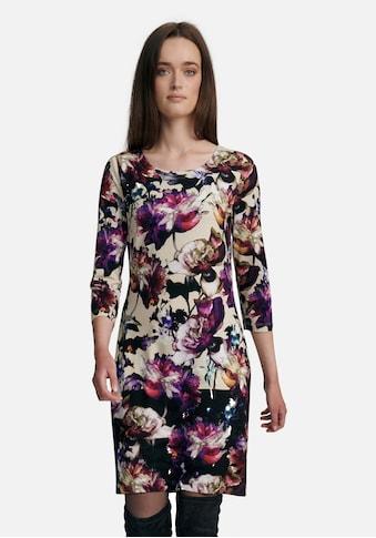 Uta Raasch Jerseykleid »mit Floral-Optik«, und Rundhals kaufen