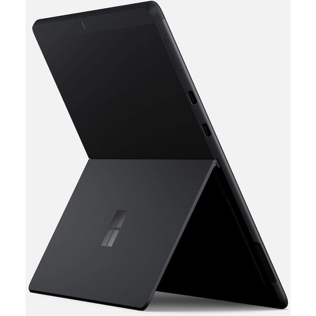 "Microsoft Convertible Notebook »Surface Pro X, 256/16GB matt schwarz«, (33,02 cm/13 "" Qualcomm SQ 1 Adreno 685 GPU\r\n 256 GB SSD)"