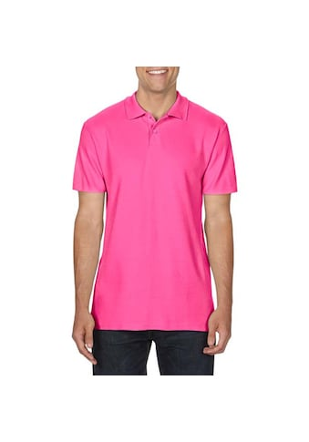 Gildan Poloshirt »Softsyle Herren Kurzarm Doppel Pique Polo Shirt« kaufen