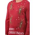 Blend Strickpullover »Rudolph«, Strickpulli mit Weihnachtsmotiv