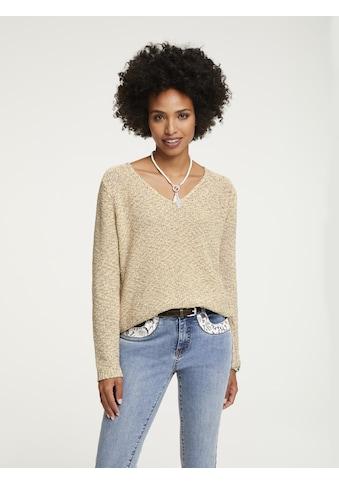 Pullover aus Bändchengarn kaufen