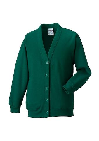 Russell Sweatjacke »Workwear Strickjacke / Sweatshirt - Jacke mit V - Ausschnitt« kaufen
