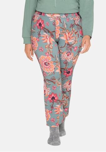 sheego by Joe Browns Leggings, mit Blumendruck, elastischer Bund kaufen