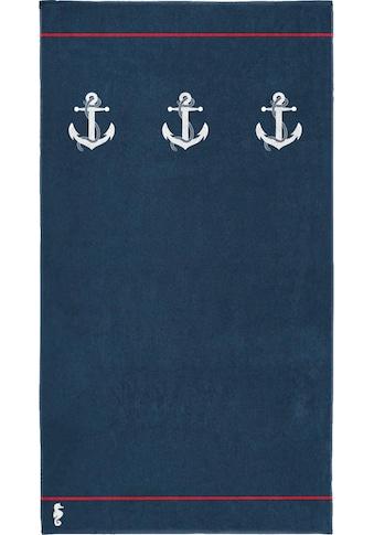 Seahorse Strandtuch »Larboard«, (1 St.), mit Anker kaufen
