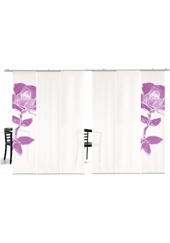 emotion textiles Schiebegardine »Pixel Rose HA«, HxB: 260x60, inkl. Befestigungszubehör kaufen