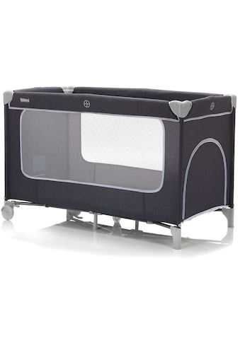 Fillikid Baby-Reisebett »Reisebett mit Komfortmatratze, dunkelgrau melange«, inkl. Transporttasche kaufen