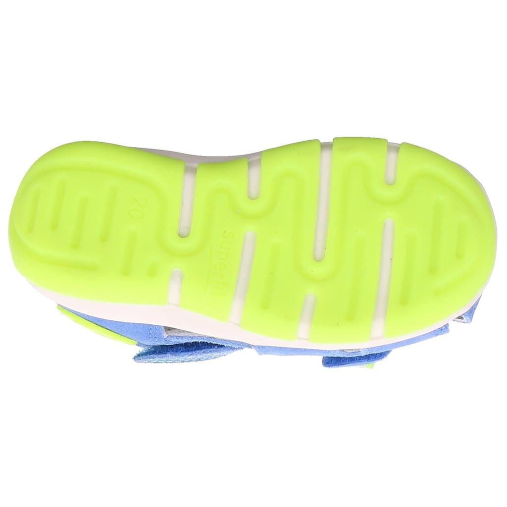 Superfit Sandale »Freddy WMS Weiten-Messsystem: mittel«, mit geschlossenen Fußbereich